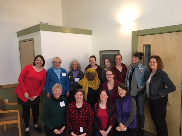 Reproductive rights advocates at Maine Family Planning training